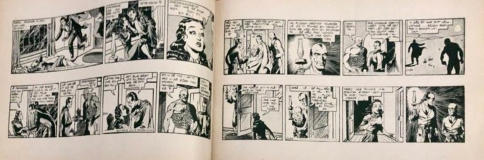 Ett uppslag ur Mandrake julalbum 1946. ©Å&Å