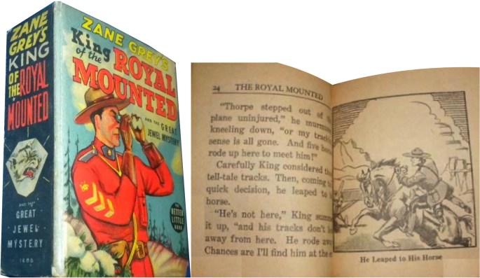 BiG Little Books var små tjocka böcker som omvandlat tecknade serier till illustrerade berättelser.