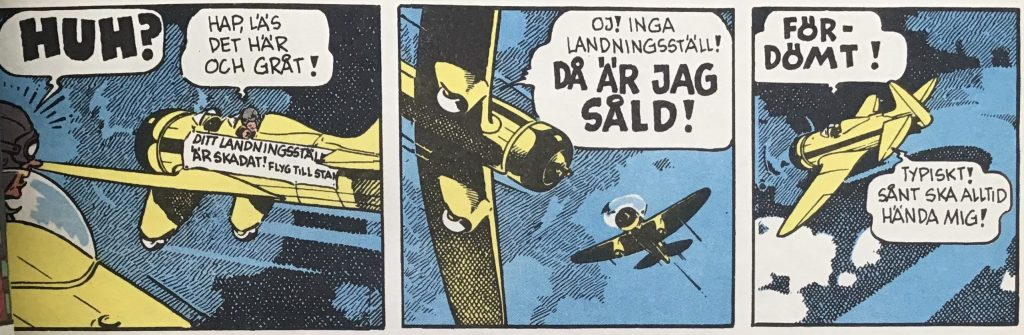 Barney Baxter var en flygarserie som i original hette Barney Baxter in the Air.