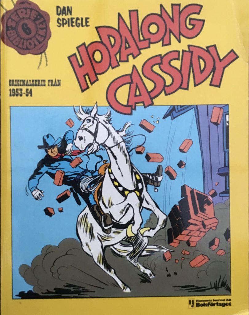 Omslag till Hopalong Cassidy , Seriebiblioteket (Hemmets Journal) nr 6