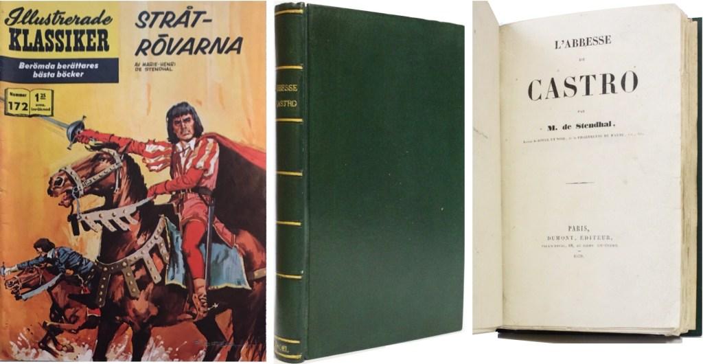 Omslag till IK nr 172, och boken från 1839. ©IK