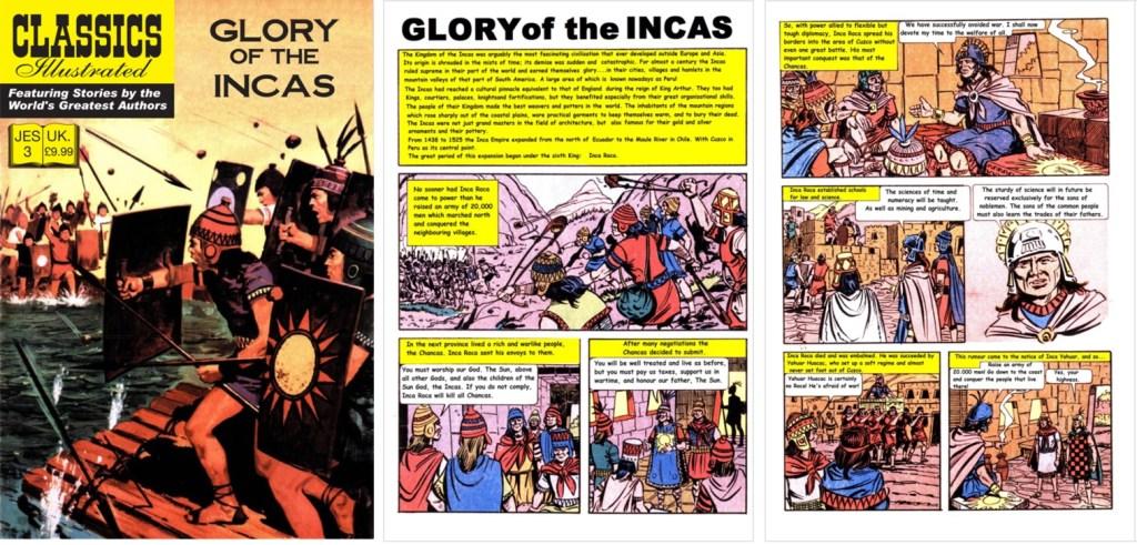 Omslag, förstasida och en sida ur inlagan ur JES No. 3. ©IK/JES