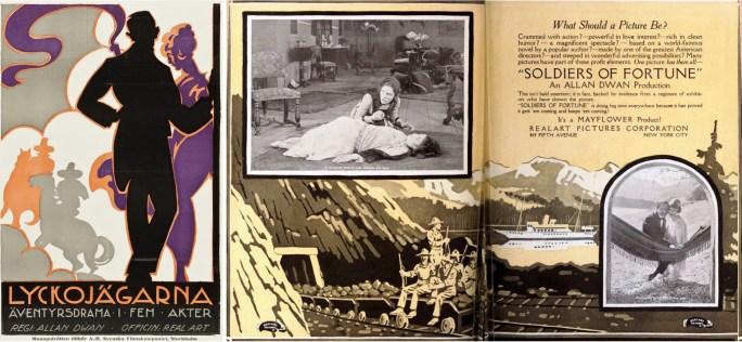 Reklammaterial för filmen från 1919.
