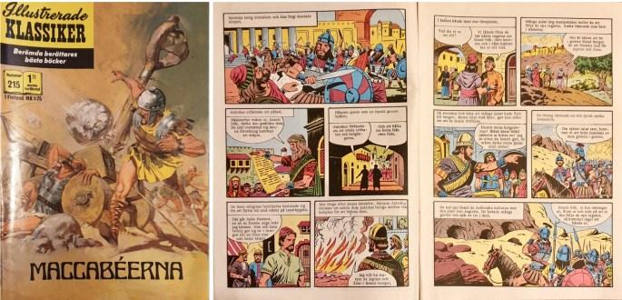Omslag, och det inledande uppslaget ur Illustrerade klassiker nr 215. ©Williams