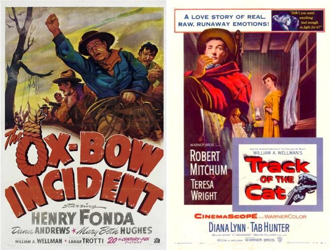 Filmaffisher för de två filmatiserade Clark-romanerna.