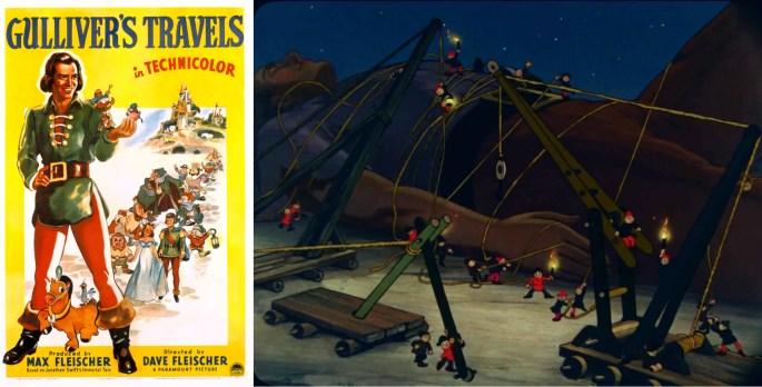 Gulliver's travels som animerad film. ©Fleischer
