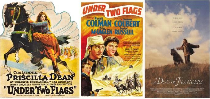 Filmaffischer från 1922, 1936 och 1999. ©Universal/20th Century/Warner
