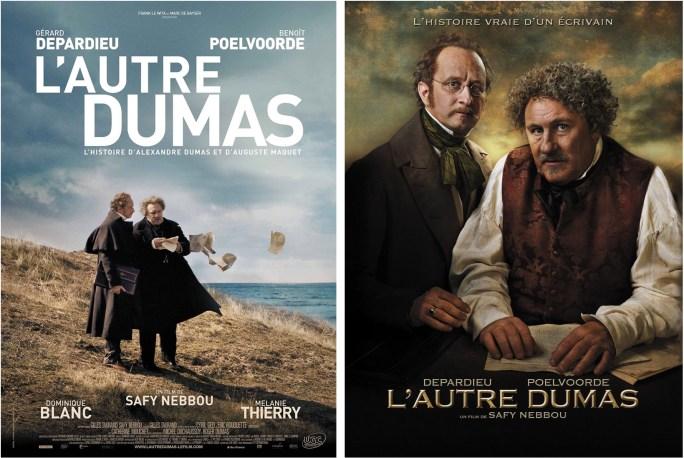 Filmaffischer för L'autre Dumas. ©UGC
