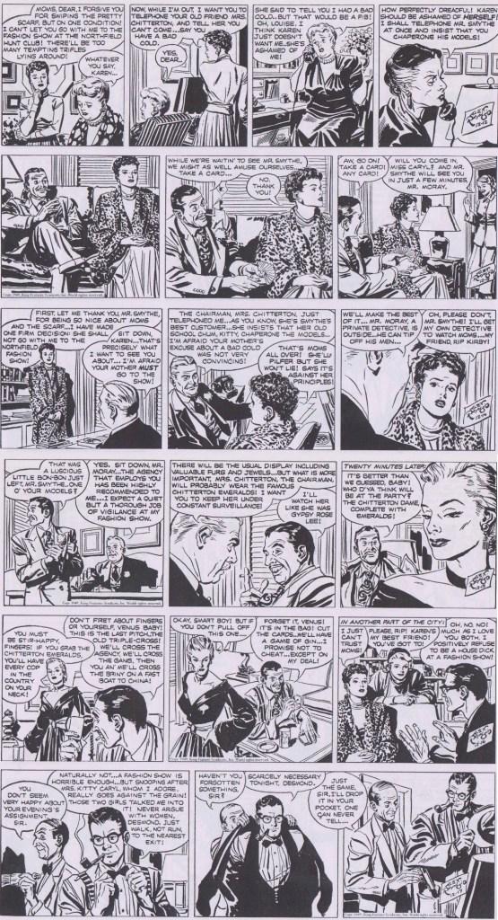 Dagsstrippar i original från 12-17 december 1949. ©KFS
