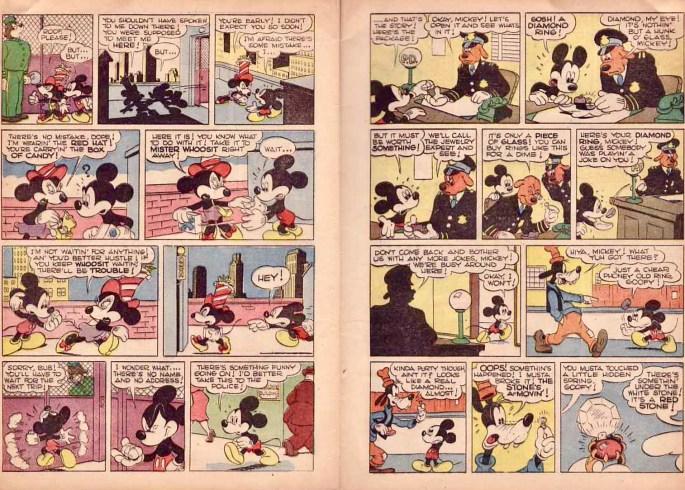 Musse blir inblandad i en riktig rövarhistoria. ©Dell/Disney