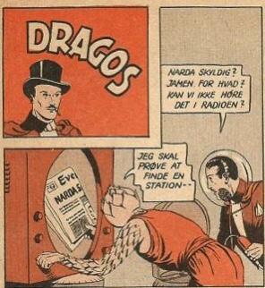 Varför hette Fantomen Dragos? Dragos ur Tempo (1953)