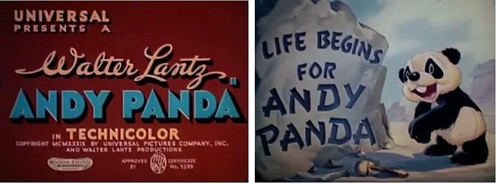 Debutfilmen för Andy Panda. ©Universal