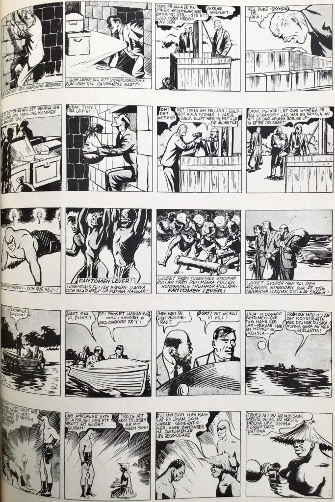 Den efterföljande sidan ur Comics nr 3. ©Bulls