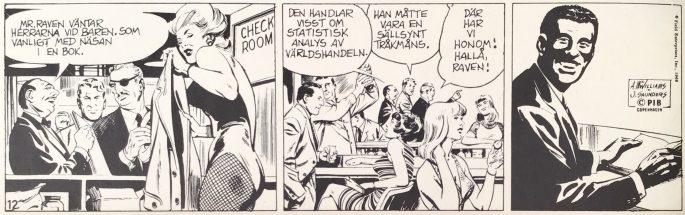 Danny Raven blir introducerad i serien från 23 november 1968, ur Comics nr 1. ©PIB