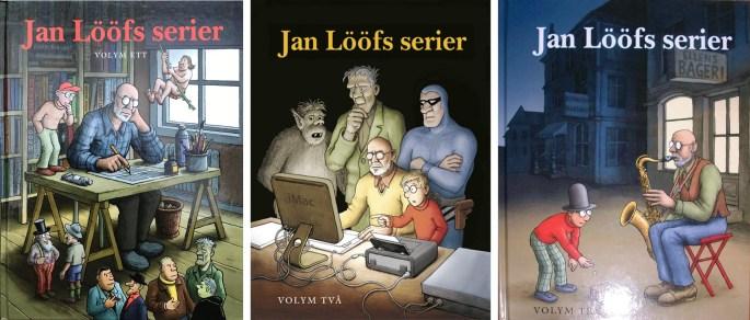 Omslag till Jan Lööfs serier, med Felix. ©Kartago