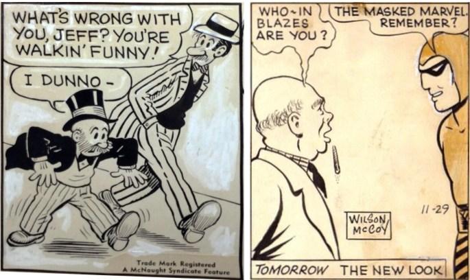 Original till serierutor av Al Smith och Wilson McCoy. ©McNaught/KFS
