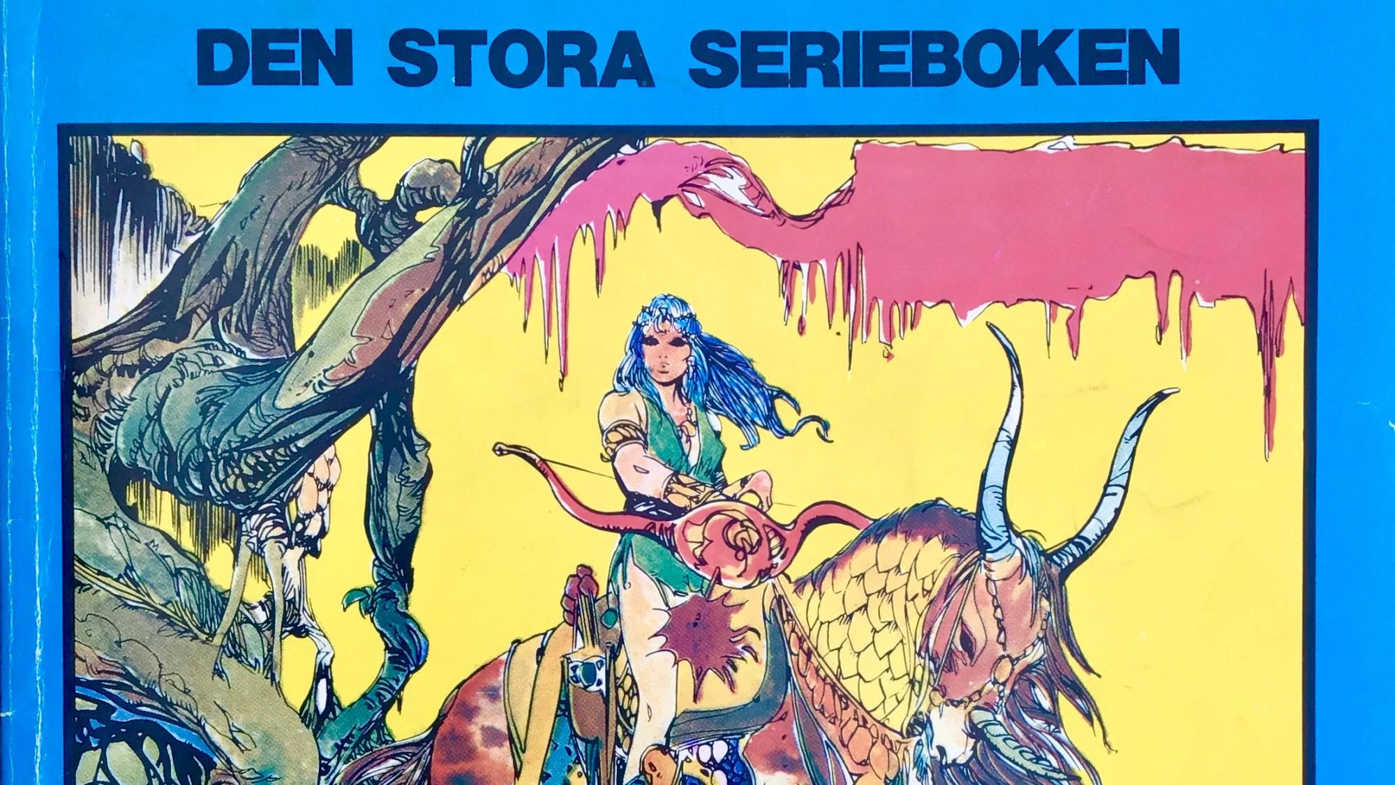 Comics 7, den stora serieboken