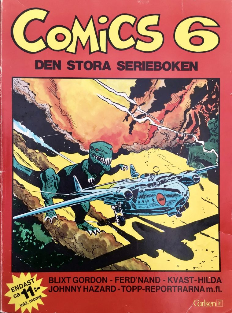 Omslag till Comics, den stora serieboken, nr 6. ©Carlsen/if