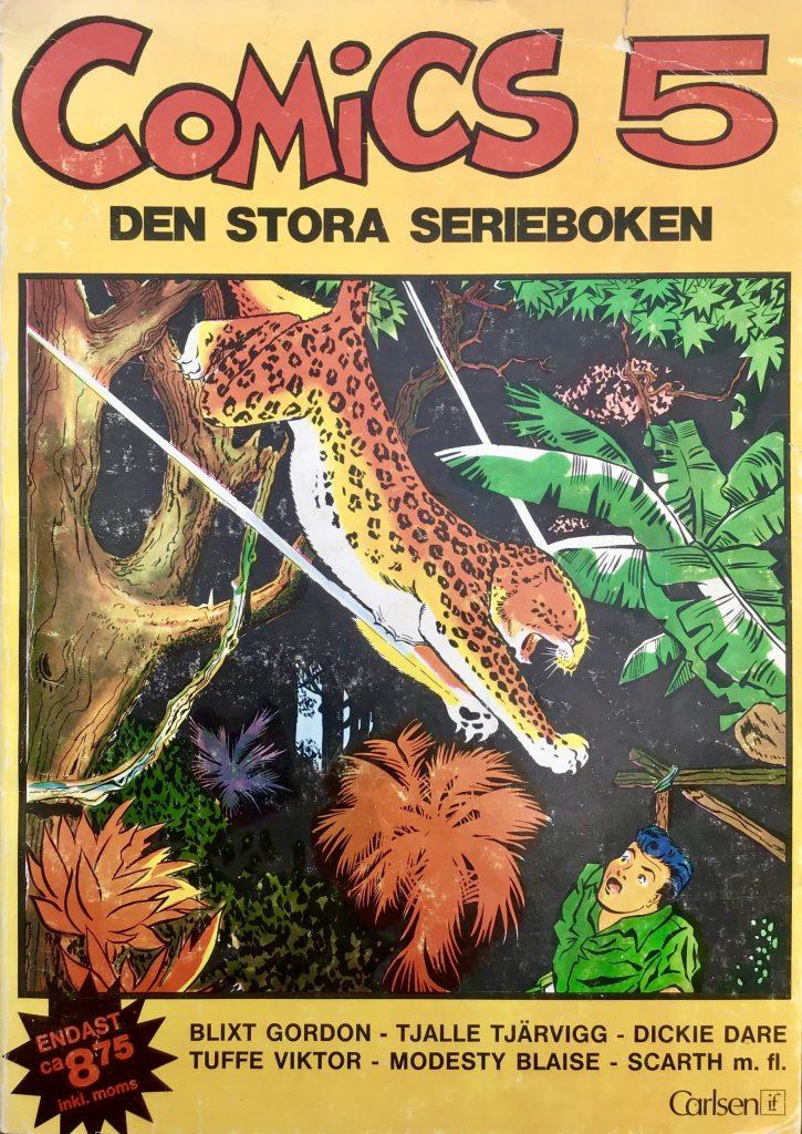 Omslag till Comics, den stora serieboken, nr 5. ©Carlsen/if