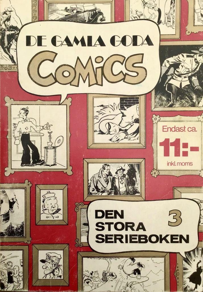 Omslag till Comics, den stora serieboken, nr 3. ©Carlsen/if