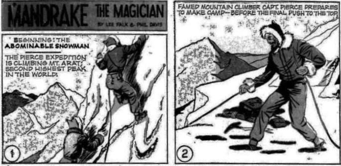 De två första serierutorna i episoden saknades i Comics. ©KFS