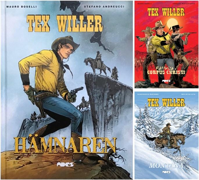 Omslag till Tex Willer (2018-19). ©Ades