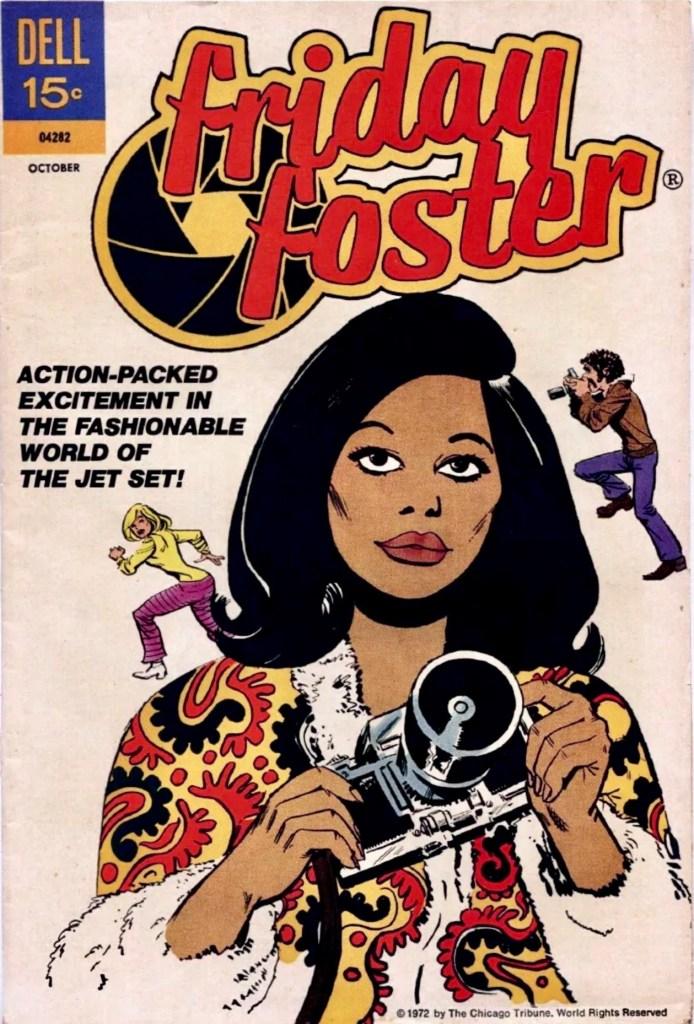 Omslag till Friday Foster #1 (1972). ©Dell