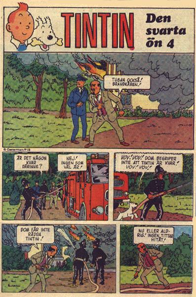 Serien Tintin