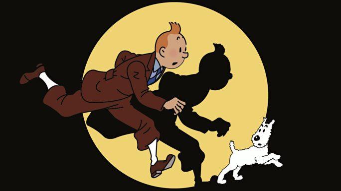 Tintin och Milou. ©Hergé-Moulinsart