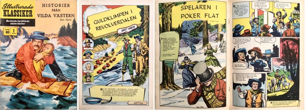 Omslag, förstasida och mittuppslag ur IK nr 80. ©IK/Gilberton