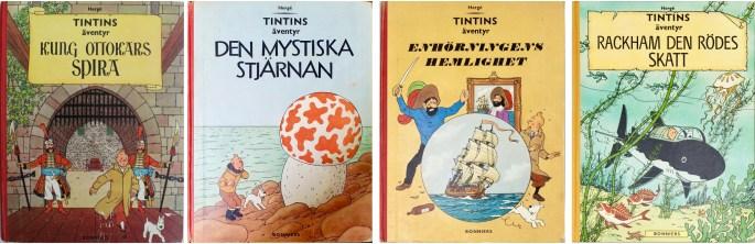 Tintins äventyr (1960-62). ©Bonniers