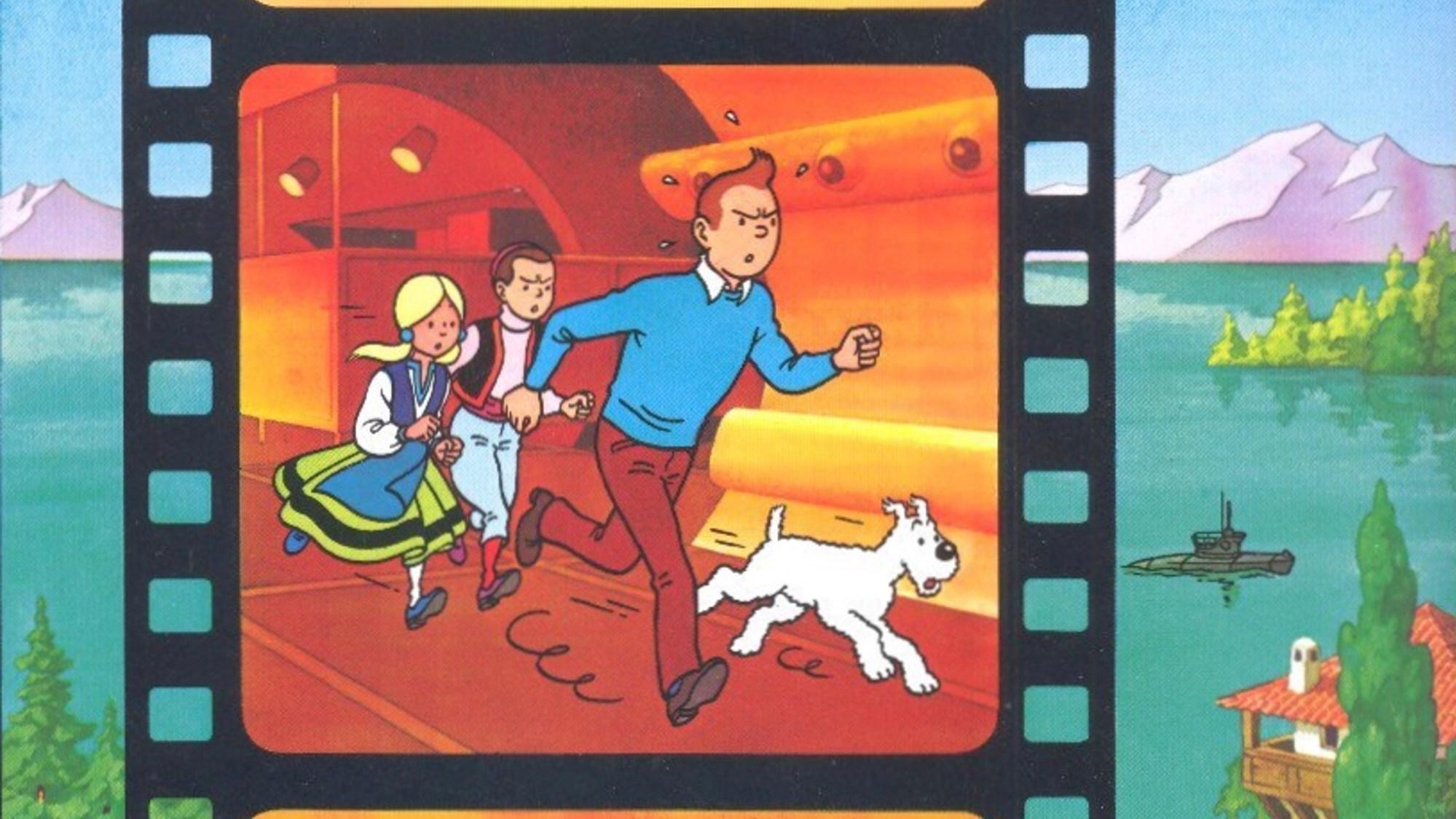 Tintin och hajsjön