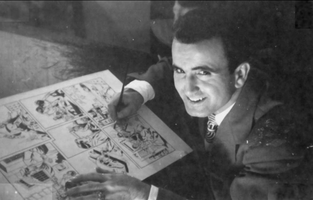 Serietecknaren Tony DiPreta arbetade mycket med serier för serietidningar under 40- och 50-talet.