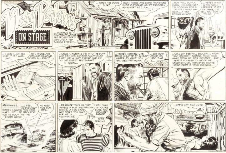 Original till en söndagsstripp från 22 december 1968. ©CTS