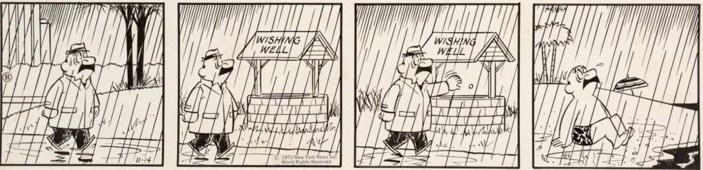 Dagsstripp från 14 november 1972. ©NNN
