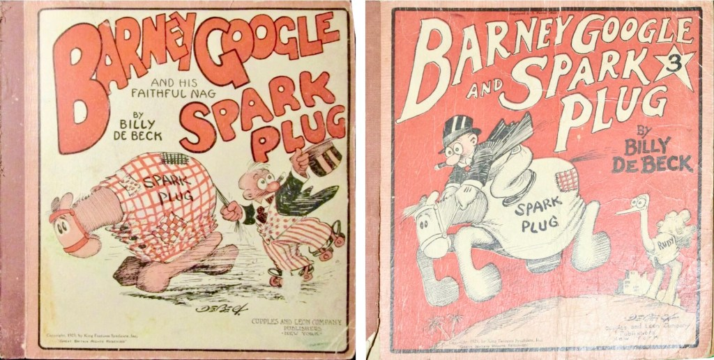 Barney Google and Spark Plug #1 och #3. ©Cupples&Leon