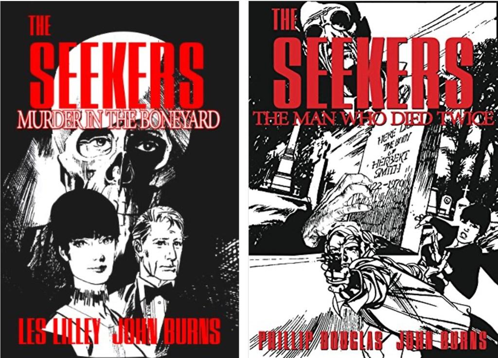 Två utgåvor med The Seekers som e-bok. ©Lucky Comix