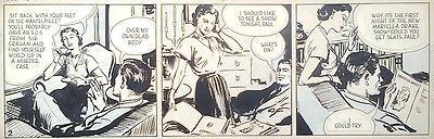 Paul Temple daily strip.