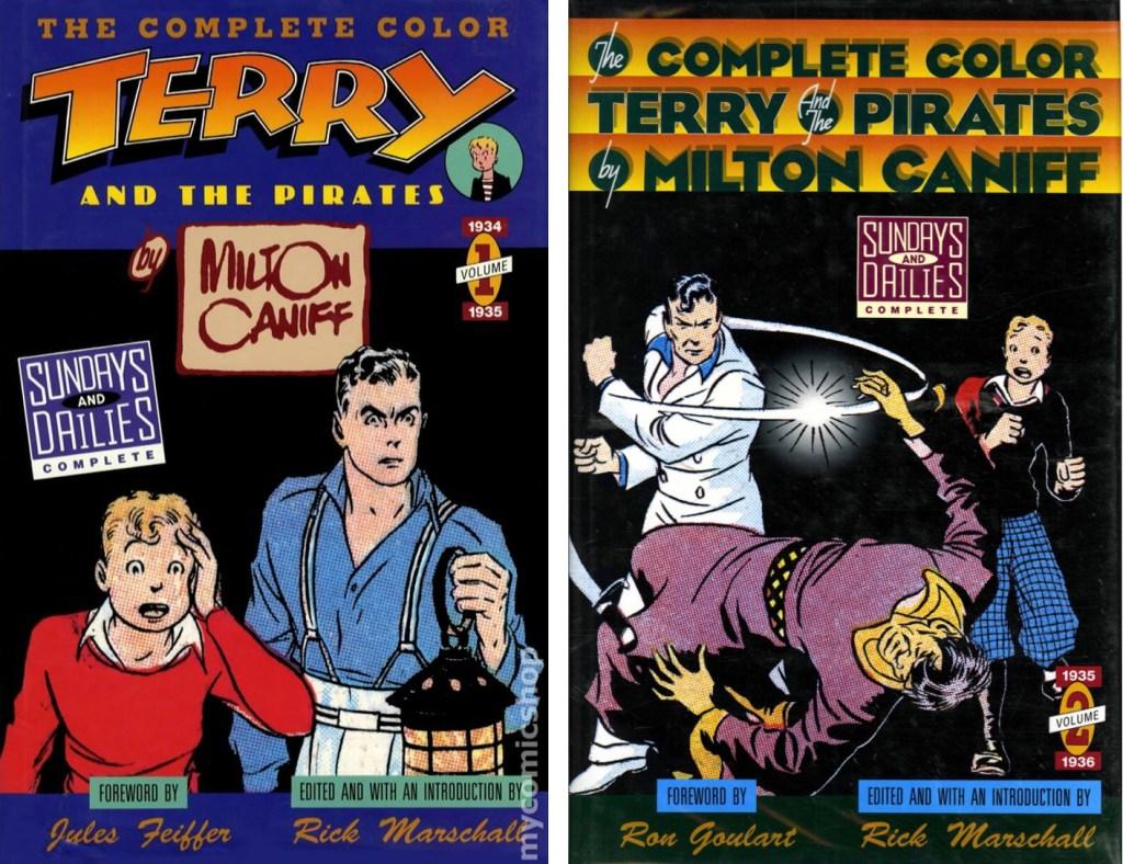 De båda volymerna från Kitchen Sink (1991).