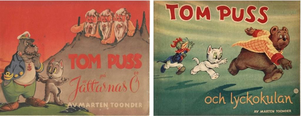 Omslag till det andra (1949) och fjärde (1951) julalbumet. ©Å&Å
