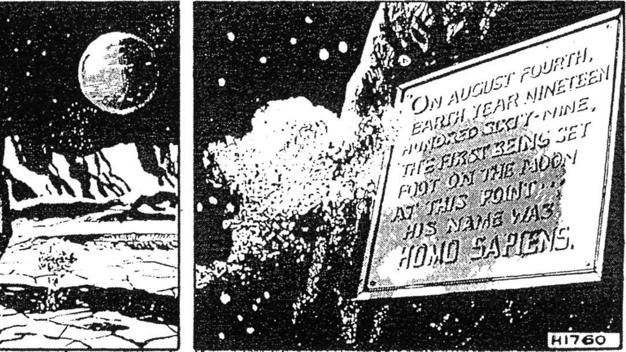 Jeff Hawke förutspådde månlandningen