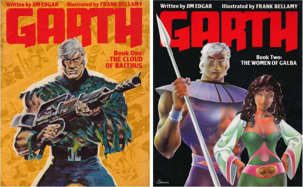 Omslag till Garth Book One och Two (1984-85). ©Titan