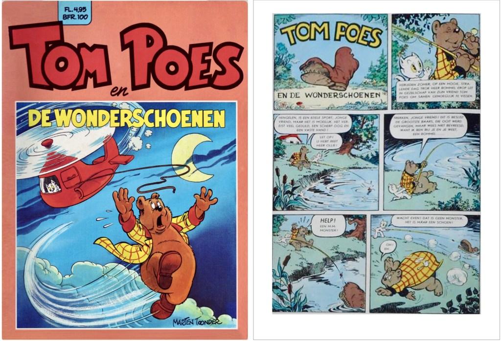 Omslag och inledning av episoden i original, i en utgåva från 1984. ©STA