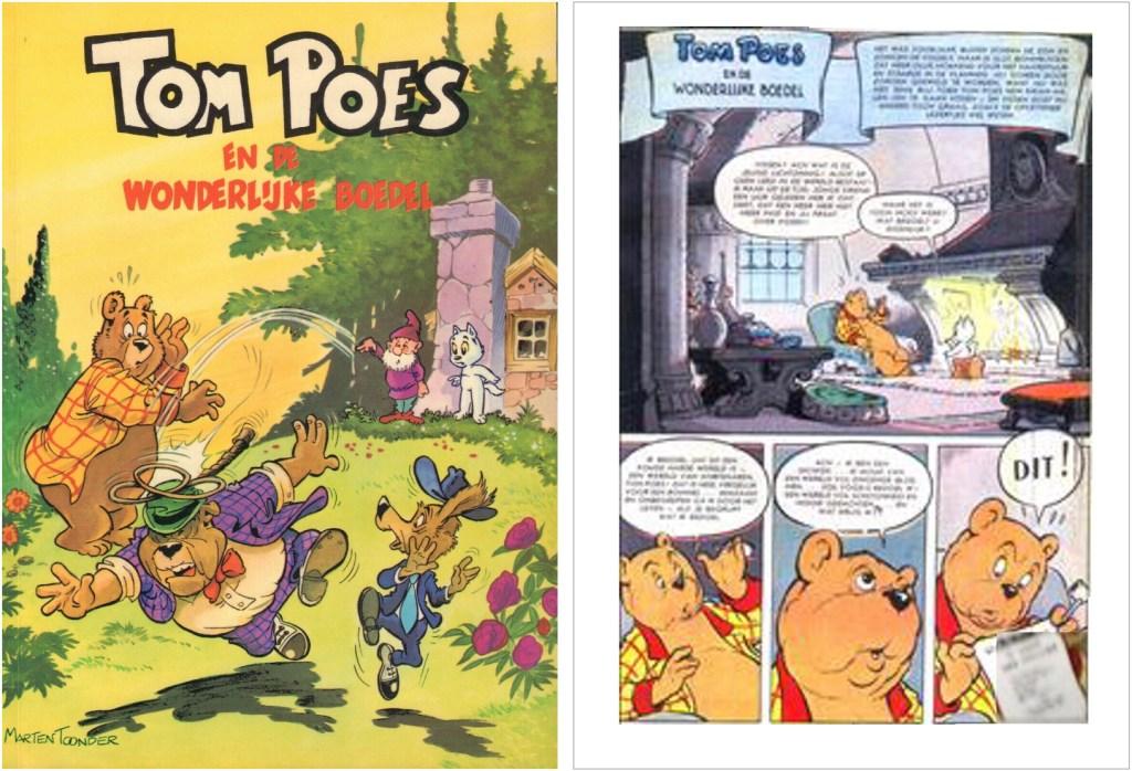 Omslag och inledning av episoden i original, i en utgåva från 1957. ©STA
