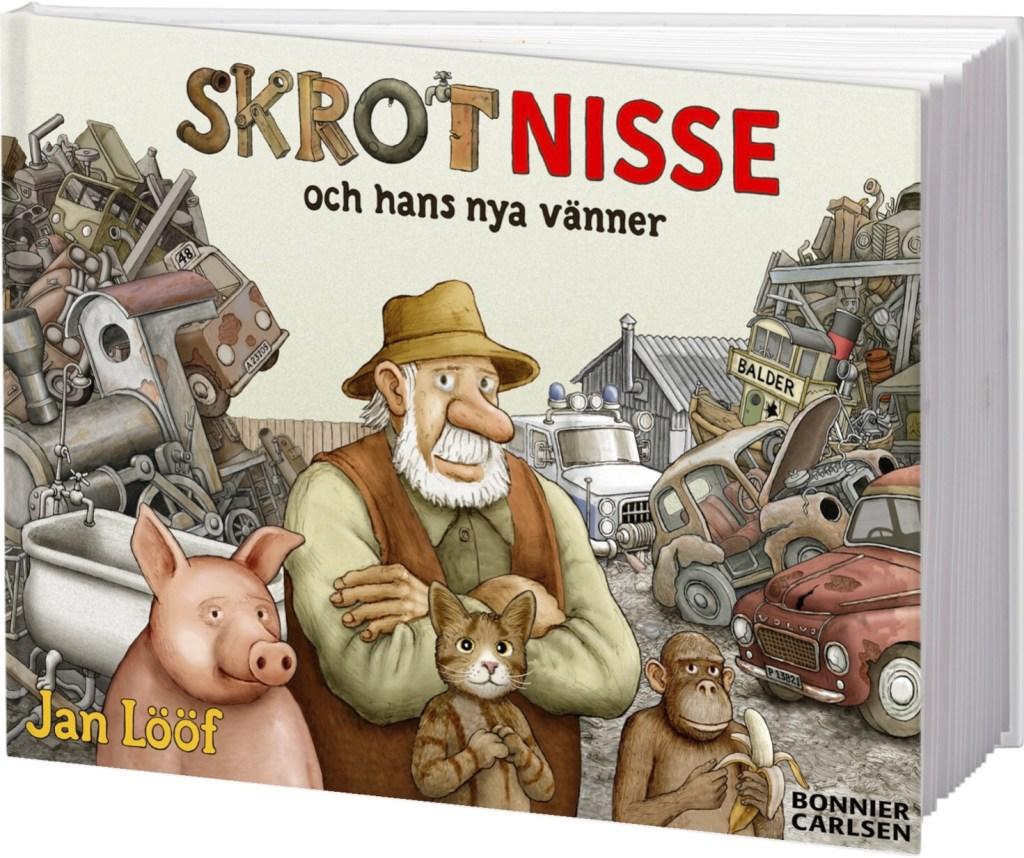 Skrot-Nisse och hans nya vänner av Jan Lööf (2020). ©Bonnier/Carlsen