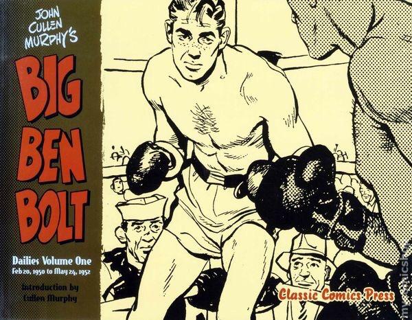 Omslag till en samlingsvolym med dagsstrippar från 20 februari, 1950 till 24 maj, 1952. ©Classic Comics