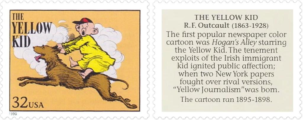 The Yellow Kid av R.F. Outcault (1863-1928)