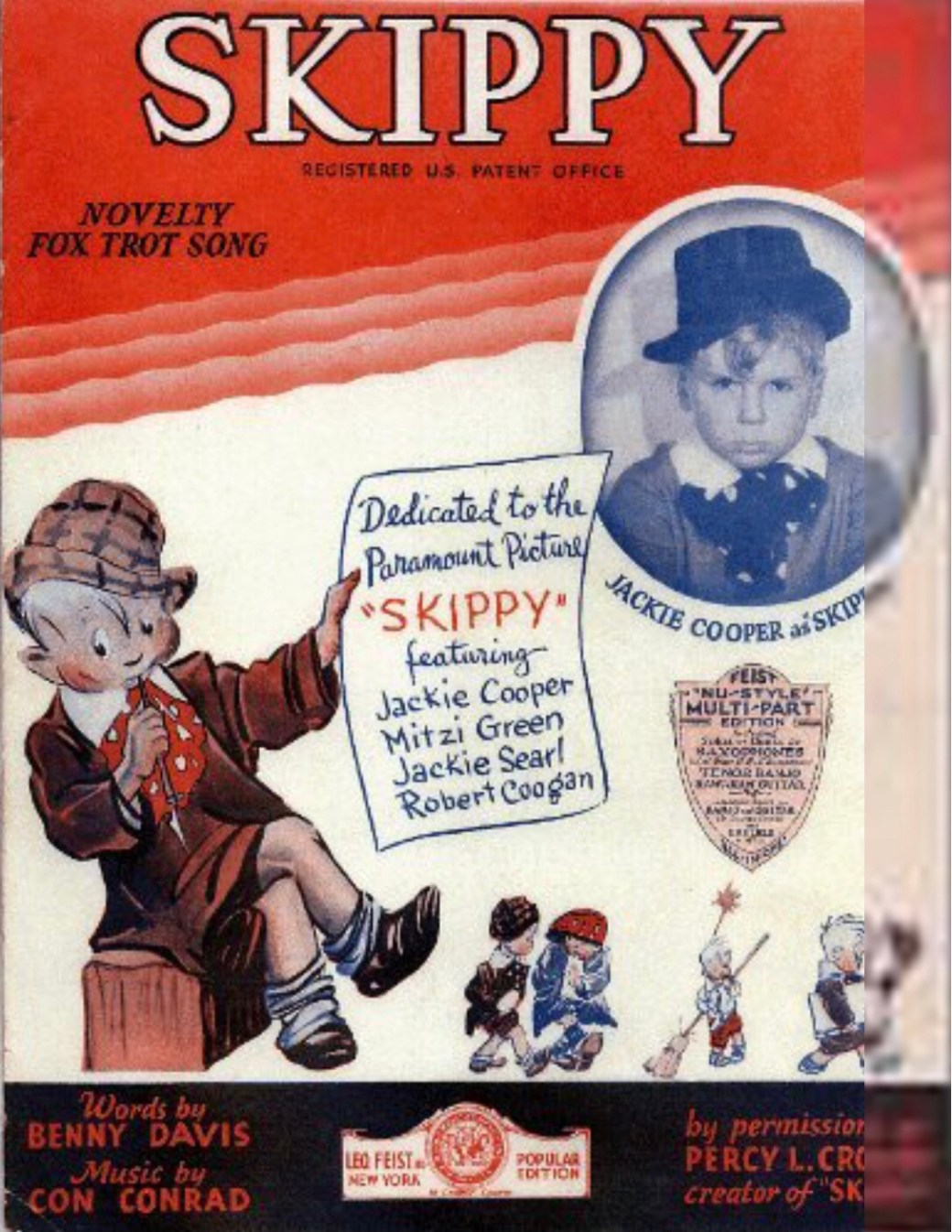 En filmversion av serien kom 1931 med Jackie Cooper i huvudrollen.