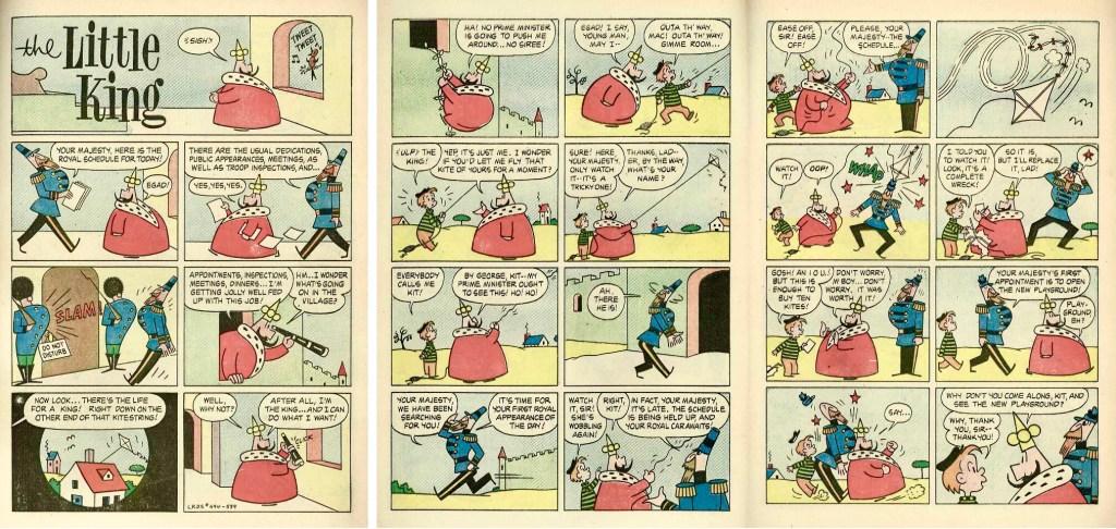 De inledande sidorna ur Four Color Comic #494 (1954). ©Dell