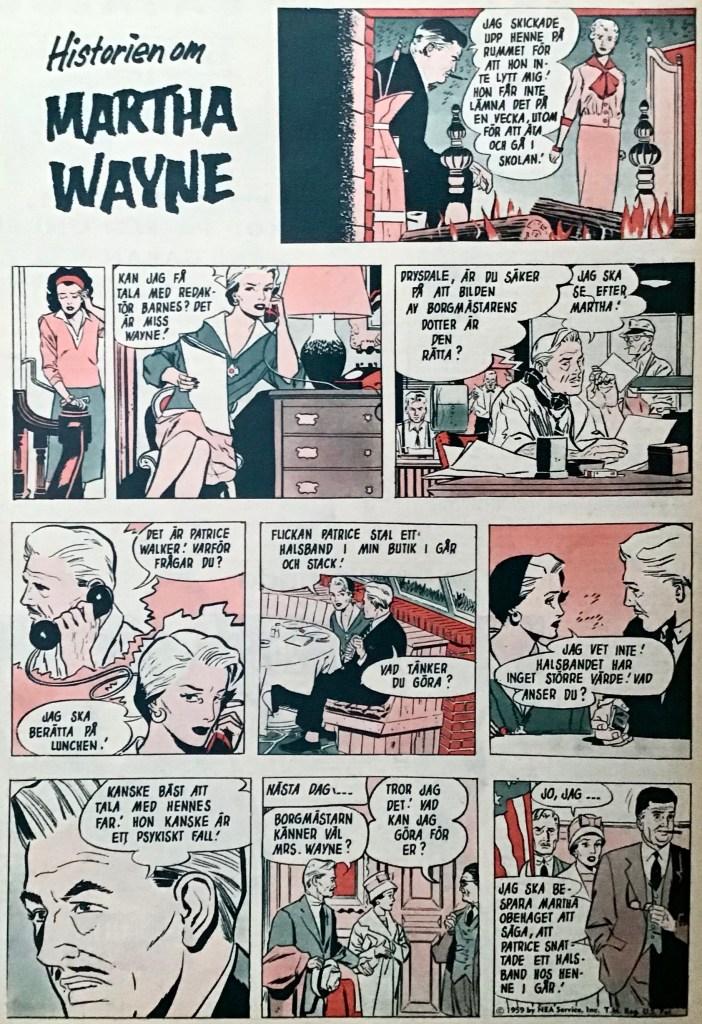 Fortsättningen av episoden ur Året Runt nr 43, 1959. ©PIB